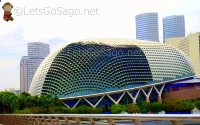 Singapores Esplanade Theater
