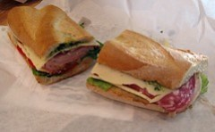 bread garden - italian sub
