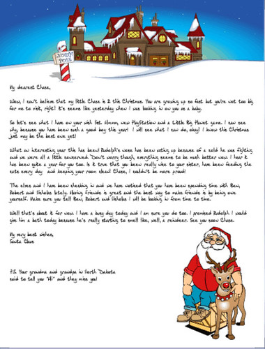 Unlimited Printable Santa Letters - Christmas Letter Tips