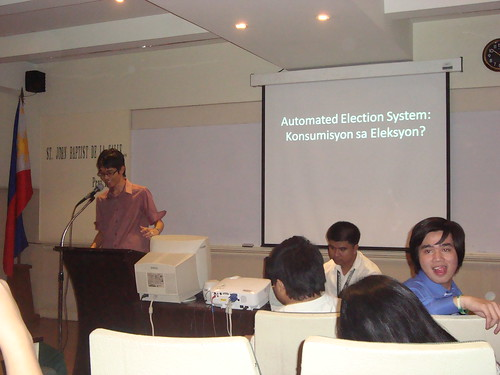 My talk on Automated Election System
