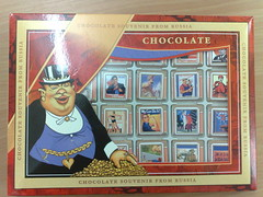 Chocolates from Russia