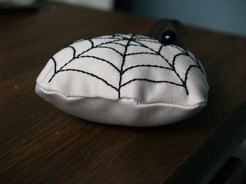 Spiderweb Ornament Step 4
