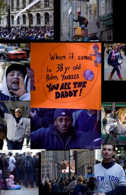 Scenes from the Yankee Parade 2009