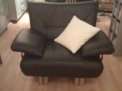 Mijn fauteuil is ook gearriveerd... Eindelijk compleet!!!