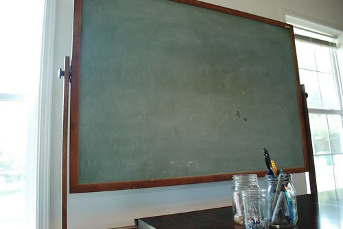 the estate of things chooses vintage chalkboard