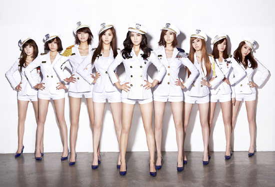 SNSD concept Genie Korean Kpop girls group Girl's Generation