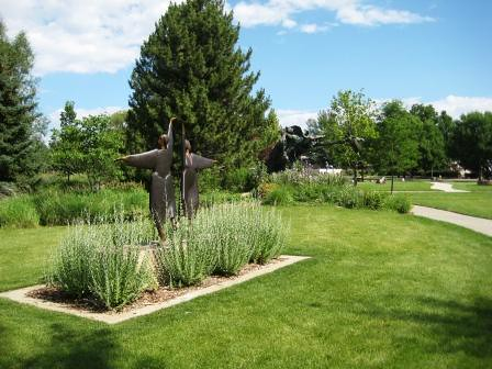 Benson Park Sculpture Gardens, Loveland, Colorado