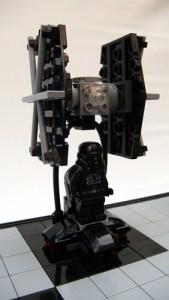 LEGO Star Wars chess set - TIE fighter
