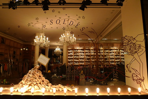 Table Solde Soldes Repetto — Le Journal Des Vitrines
