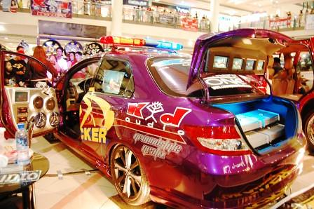 Honda City by Kid Audio Back