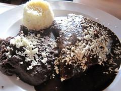 zapata - enchiladas de mole