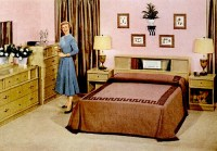 Mid-Century Living: Early '50s Bedrooms (1950-55)