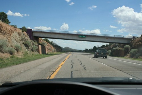 Nearing Raton, NM