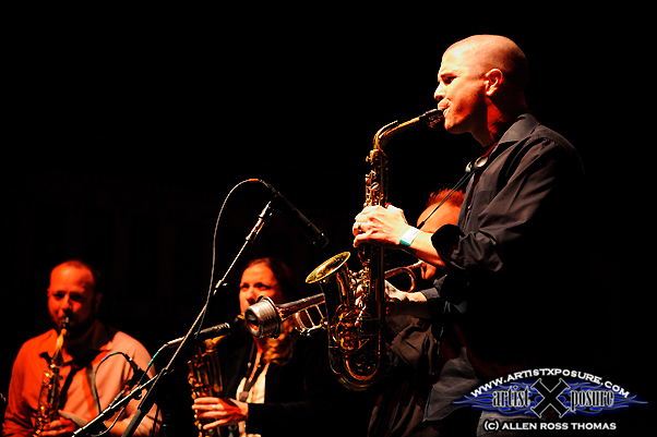 Chris Costigan and The Heap horns