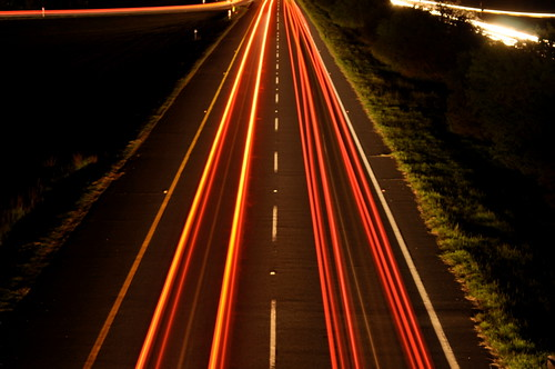 light trails on the N2