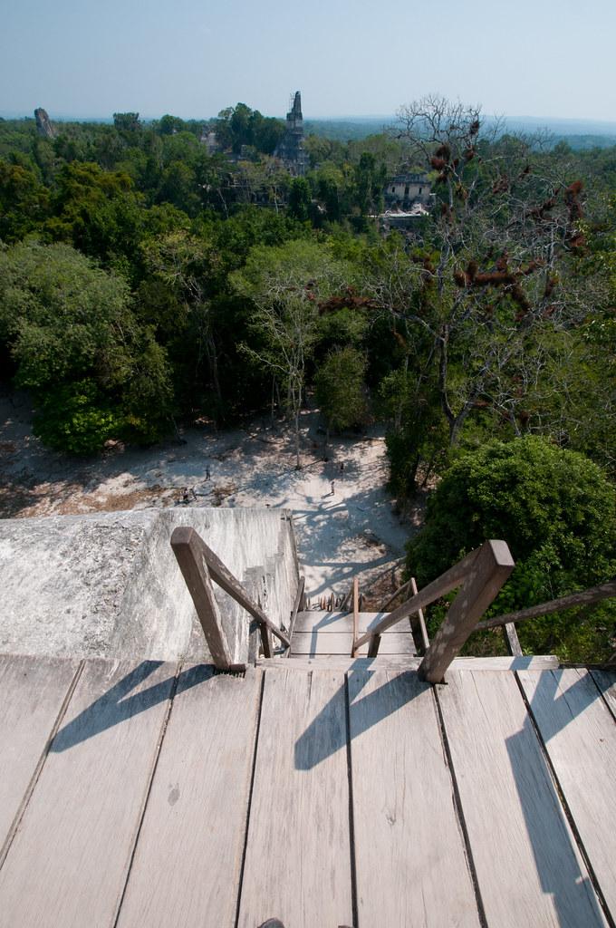 Temple V in Tikal
