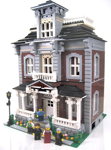 LEGO Brickstone Manor Victorian house