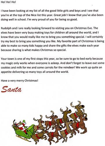 Free Santa Letters at Christmas Letter Tips - FreeSantaLettersnet