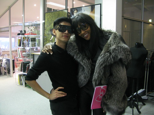 Bryanboy and Naomi Campbell in Moscow