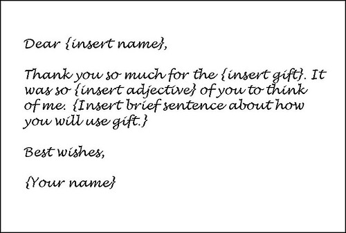 Write Thank You Letters How To Write A ThankYou Letter To A - sample thank you notes