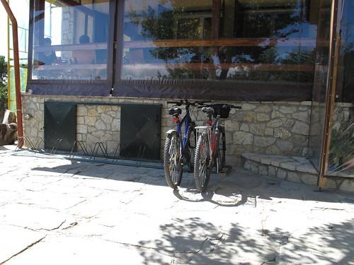Mountain biking at Parnitha