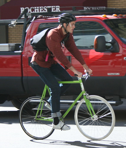San Francisco cyclist