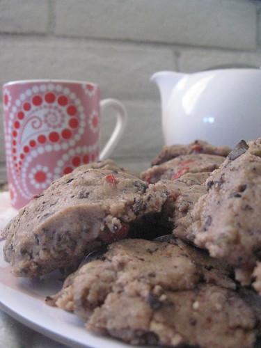 Raw Cacao Chunk Cookies