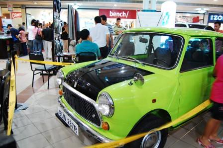 Mr Bean Mini Cooper Philippines Front