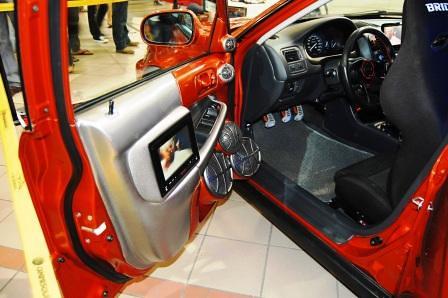 Kid Audio Honda Civic SiR driver's side door