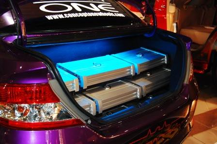 Honda City by Kid Audio Trunk