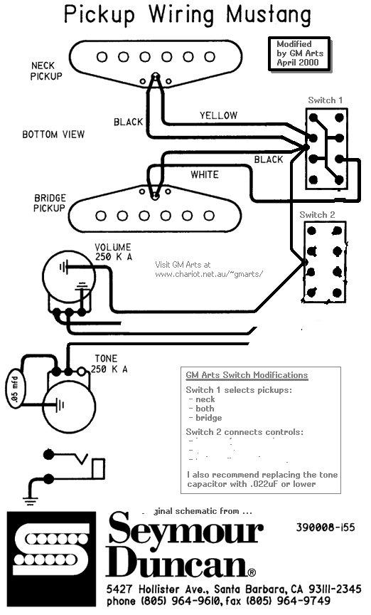 Fender Jaguar Bass Wiring circuit diagram template