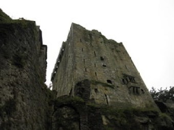 Blarney Castle in the Irish Rain