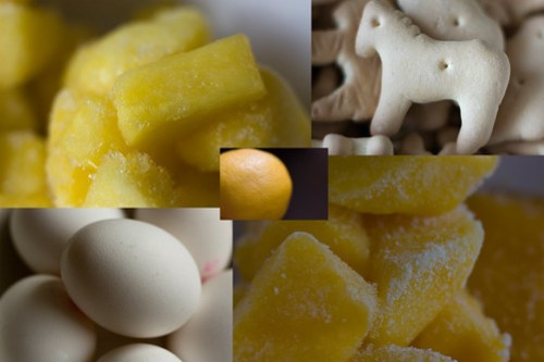 Pineapple Mango Cheesecake - Ingredients