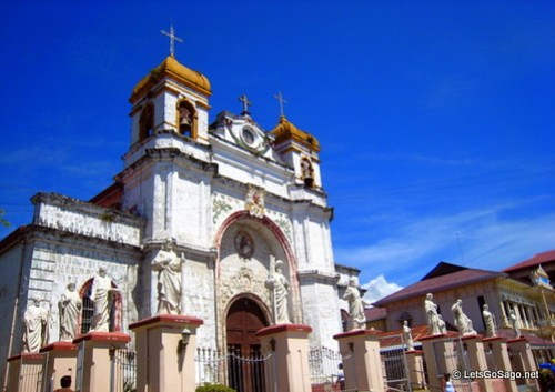 St Catherine of Alexandria Church in Carcar City