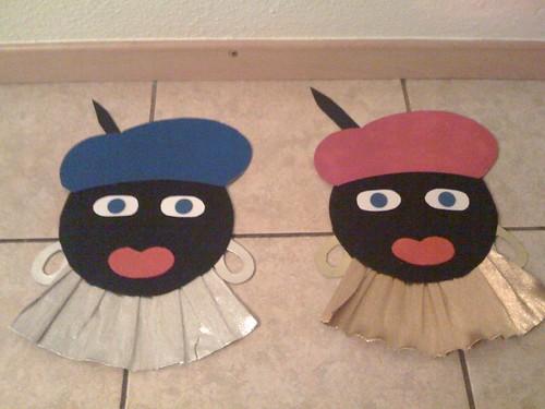 Zwarte Pieten bijna klaar!!!