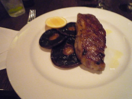 Grilled Porterhouse and Mushrooms, Provincia