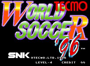 Tecmo World Soccer 96