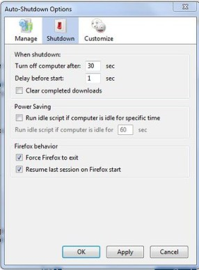 4222067729 241056e744 How to Shutdown Computer automatically Using Firefox Auto Shutdown Add on