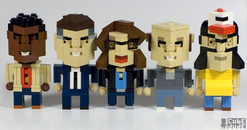 LEGO CubeDudes from 30 Rock