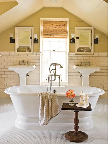 bath attic southern living