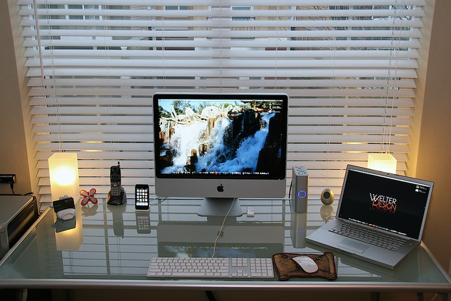 Updated: Latest Workspace Desk Shot