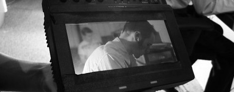 LaneVids being filmed on Greyscale (retouch)