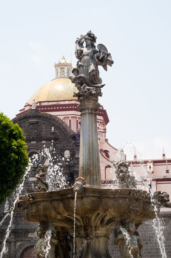 Fountain in Puebla