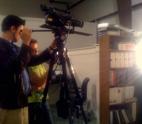 @dunlap shooting @greyscalemovie !! Gonne be awesome movie! (retouch)