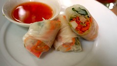 coast seafood - seafod vietnamese summer roll by foodiebuddha