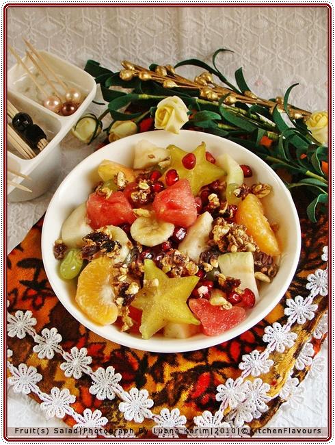Fresh Fruit(s) Salad