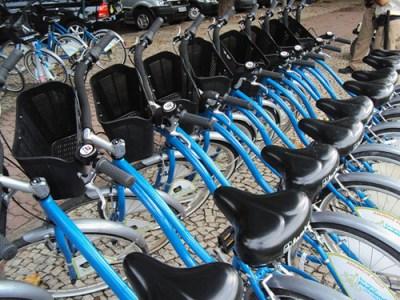 Bicicletas Azuis