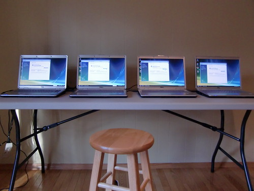 Updates to the Affiliate Summit laptops before shipping to Vegas