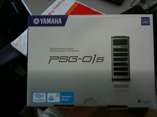 Yamaha PSG-01S - skype speakerphone