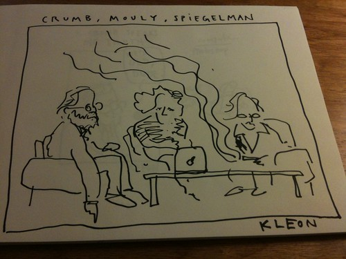 Crumb, Mouly and Spiegelman by Austin Kleon